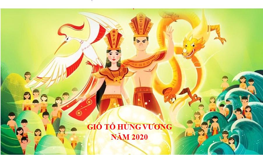 Thông báo Lịch Nghỉ Giỗ Tổ Hùng Vương năm 2020